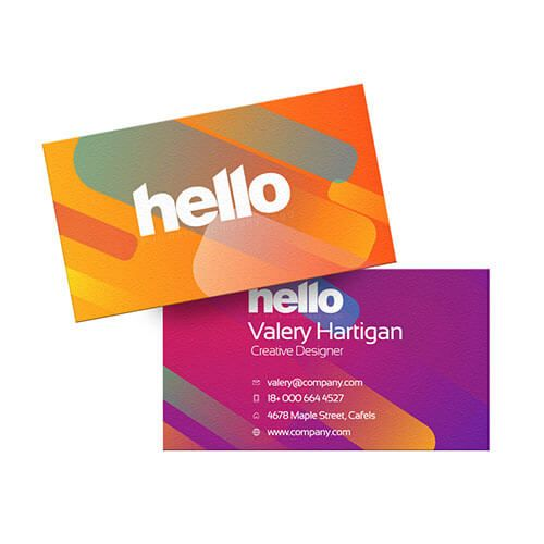 Business card printing & Cheap business cards | Helloprint