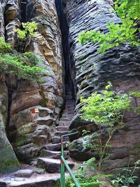visitheworld: The secret entrance to Mordor :) - Prachov Rocks / Czech Republic (by jidhash). · #photography #nature #Czech