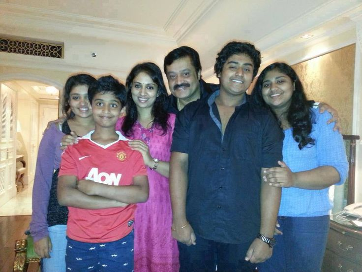 Suresh Gopi- The handsome father of five children rare pictures
