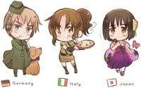 Nyo! Germany, Italy, and Japan
