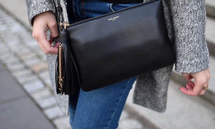 Saint Laurent monogram bag. Street Style. Every Style Blog www.everystyle.pl