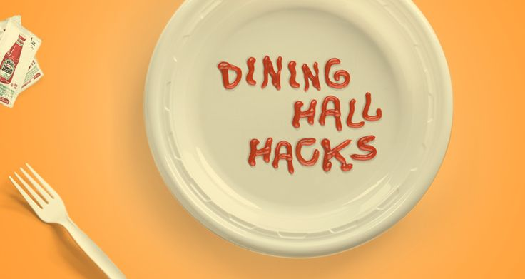 College Dining Hall Hacks - Wish I had Seen this in College but probably good to use up things in your kitchen as well