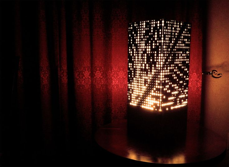 Diy circle map lamp from scratch craft and patterns for How to make a lampshade from scratch