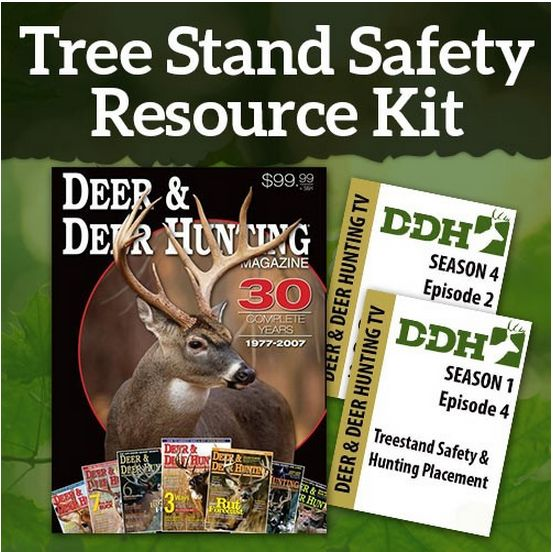 Staying safe when you're climbing a treestand is the No. 1 priority for deer hunters, no matter if you're 10 feet up in a ladder stand or 30 feet or higher in a climber or lock-on. If you're elevated, always remember that it's uncool to be unsafe. You have family and friends to think about. Stay safe all the time from the first step off the ground to the last …
