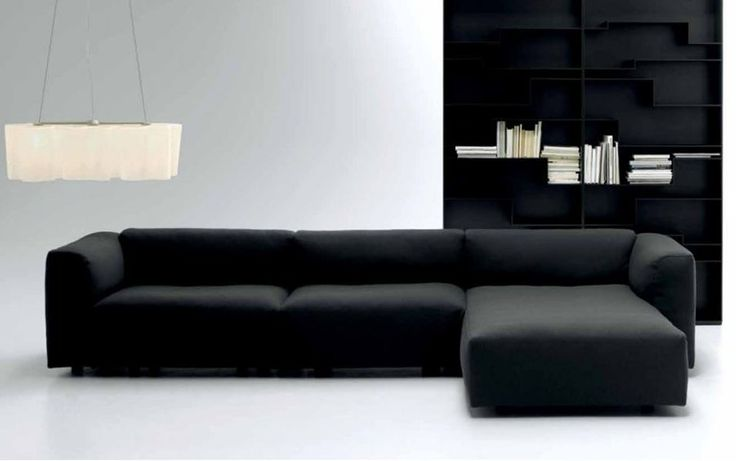 Download the catalogue and request prices of Mate 2012 | sofa with chaise longue by Mdf Italia, fabric sofa with removable cover with chaise longue design Robin Rizzini
