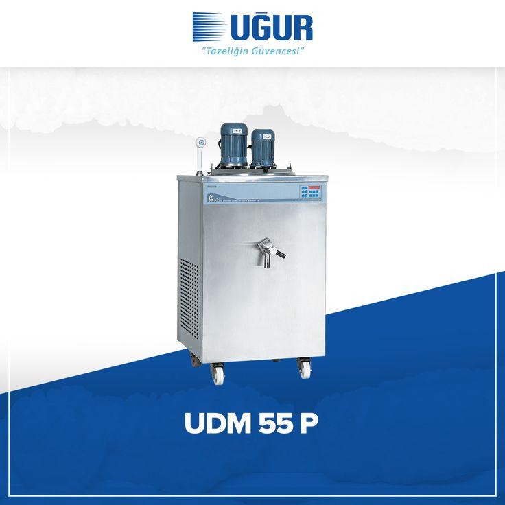 UDM 55 P birçok özelliğe sahip. Bunlar;  hijyenik dondurma ve tatlı yapımına uygun 55 lt'lik ve 110 lt'lik modeller, yüksek ve düşük ısılarda dondurma malzemesinin mükemmel pastörizasyon, kolay anlaşabilen su geçirmez kontrol paneli, alarmlı kontrol sistemi, esnek ve geri çekilebilir duşla kolay ve çabuk temizlik. #uğur #uğursoğutma