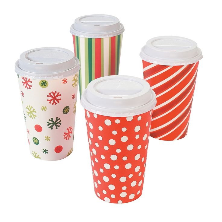 Bright Christmas Insulated Coffee Cups - OrientalTrading.com  #OrientalTrading.com #ChristmasWishList