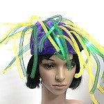Wholesale Mardi Gras crazy hats that light up.  What a statement these Mardi Gras hats will make at a night parade.  Also great fro Mardi Gras parties even if your area doesn't have parades.  A switch lets your customer turn the flashing lights on and off to conserve batteries.  http://www.awnol.com/store/Mardi-Gras/Mardi-Gras-Crazy-Hats