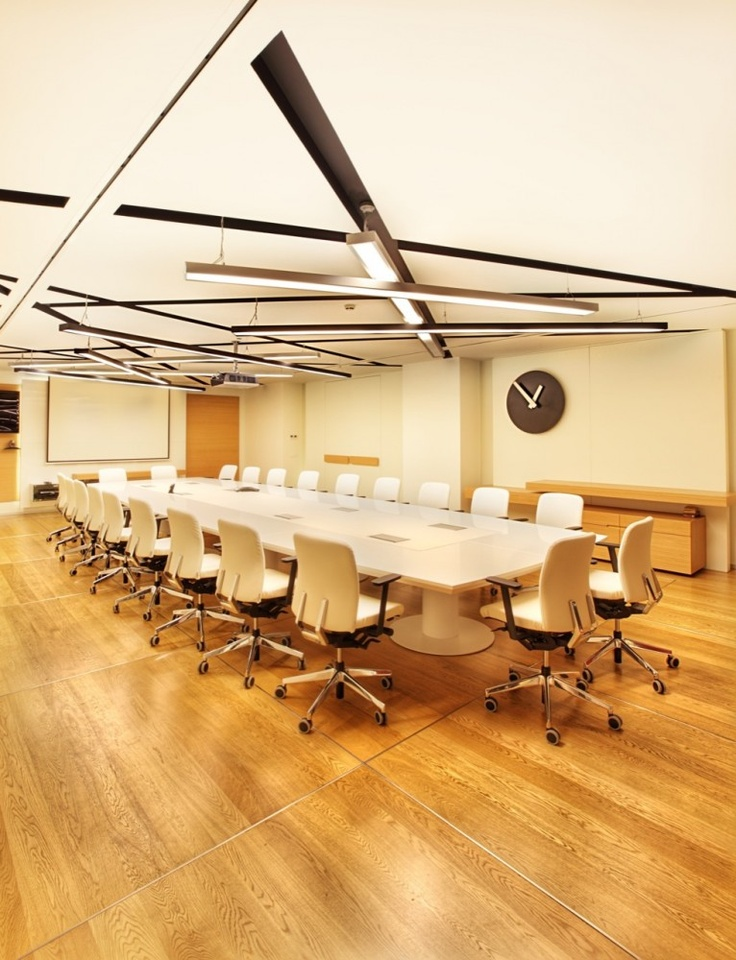 Philip Morris  / Mimari Studio   sala de reuniones