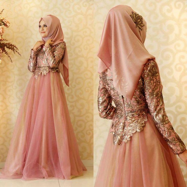 Hijab soirée dress