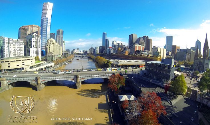 The Yarra river from up above http://chicvoyagetravel.com/14-days-in-the-most-livable-city-in-the-world/