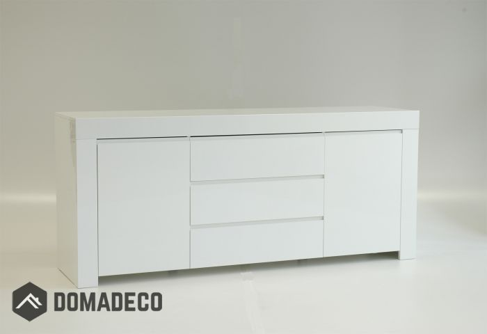 Amalfi 7 Modern White Dresser White Dresser Cheap Black