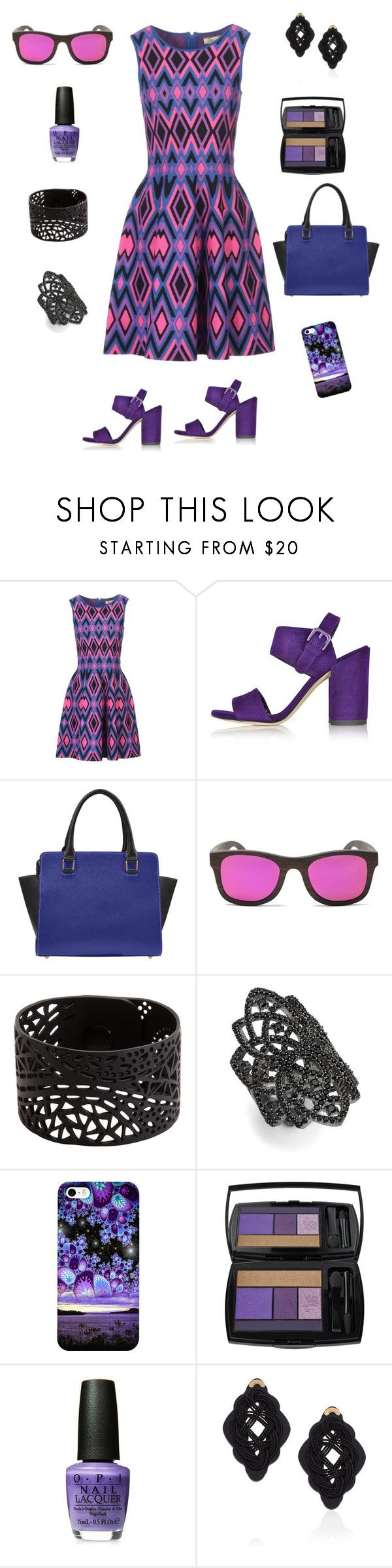 """""""Sunday Sophistication"""" by kimberly-koch ❤ liked on Polyvore featuring Issa, Finlay & Co., nOir, Lancôme and Anna e Alex"""