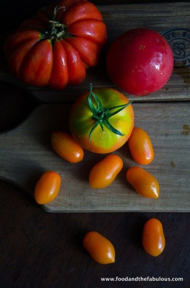 Exotic tomato selection - hopefully we'll see more of these beauties in South Africa