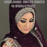 ELITE MUSLIM MUSLIM BRIDES & GROOM FOR MARRIAGE INDIA & ABROAD
