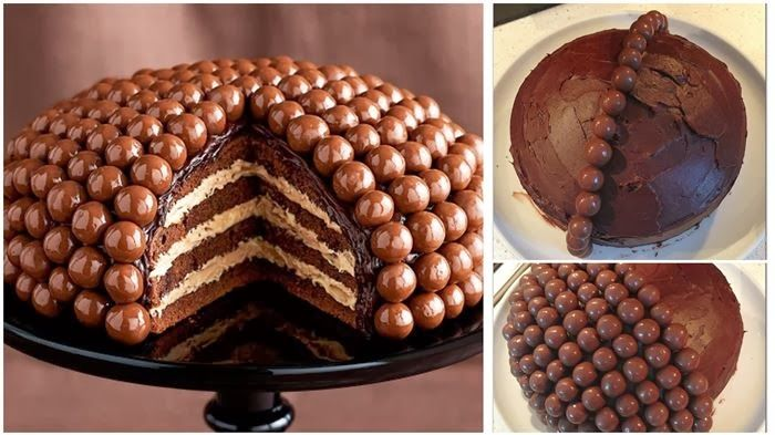 Our tributary dessert to fabulous Maltesers is amazeballs from the first bite to the last!  Want to make it? Follow the instructions