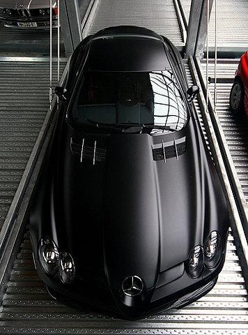 matte car paint... Bat mobile  much