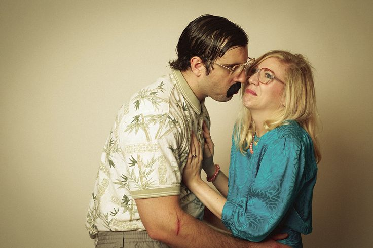 This Couple Took the Most Awkward Engagement Photos Ever… on Purpose via Brit + Co.