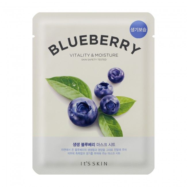 It's Skin The Fresh Mask Sheet Blueberry - maseczka do twarzy