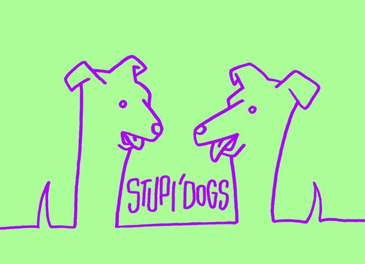 Stupi'Dogs, epileptic gif - http://typeforce.org/
