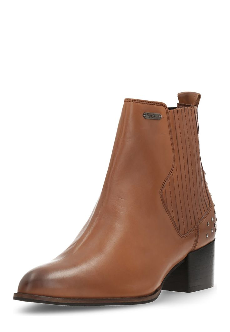 Pepe Jeans Chelsea-Boots, Leder, Absatz 5 cm, nussbraun Jetzt bestellen unter: https://mode.ladendirekt.de/damen/schuhe/boots/chelsea-boots/?uid=a118488c-7433-5049-931e-1532144b7d57&utm_source=pinterest&utm_medium=pin&utm_campaign=boards #chelseaboots #boots #schuhe #bekleidung Bild Quelle: brands4friends.de