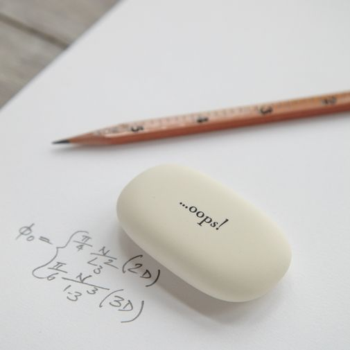 The most beautiful eraser. Gotta have this for the office.
