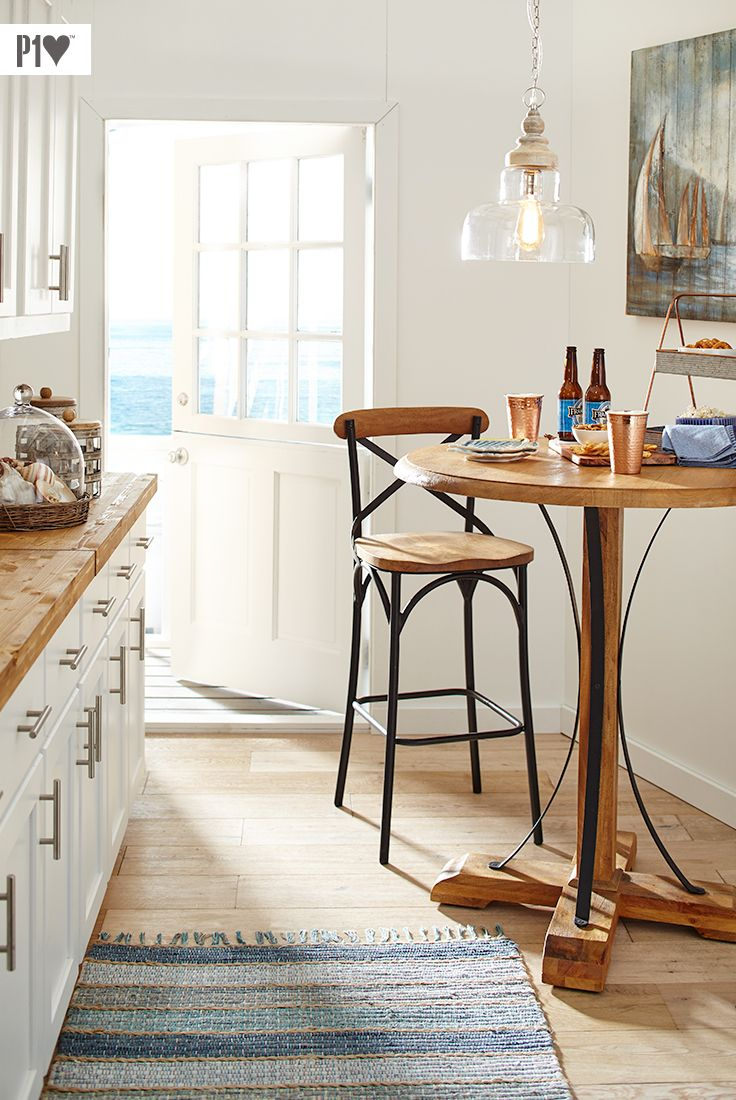 Our Bistro Tables Are Perfect For Small Spaces Small Kitchen Design Apartment Small Pub Table Small Kitchen Tables Bistro table for kitchen