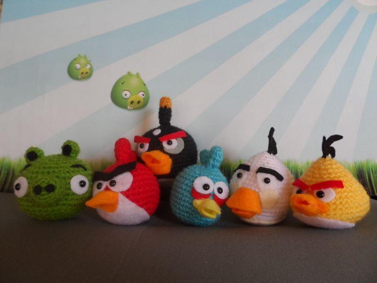 Amigurumi Angry Birds Star Wars : 1000+ images about ANAgurumi on Pinterest Minion crochet ...
