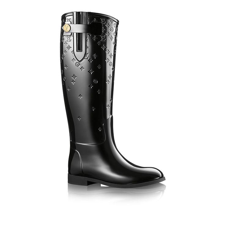 Discover Louis Vuitton Drops High Boot via Louis Vuitton