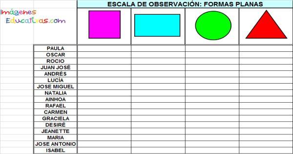 Registro de Observación1 - Imagenes Educativas