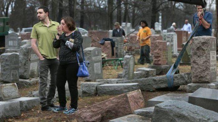 Pemakaman Yahudi di Amerika Serikat Dirusak, Kaum Muslimin Lakukan Penggalangan Dana