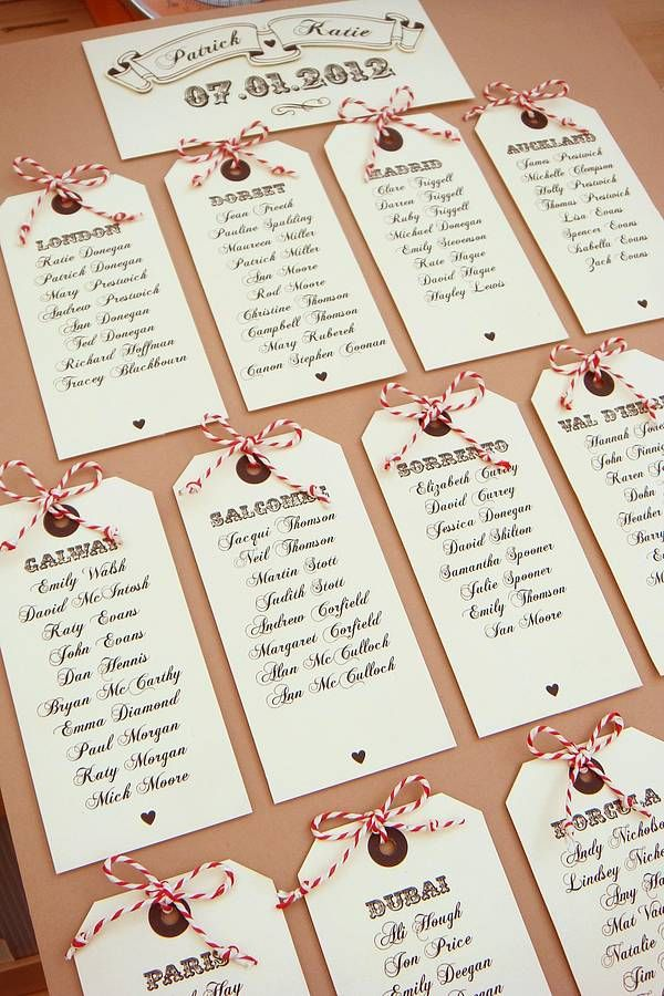 'fly away with me' luggage tag table plan by katie sue design co | notonthehighstreet.com