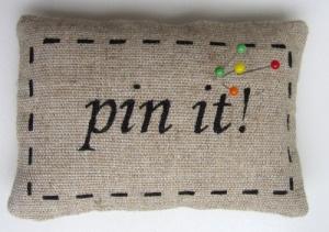 'Pin It' pin cushion
