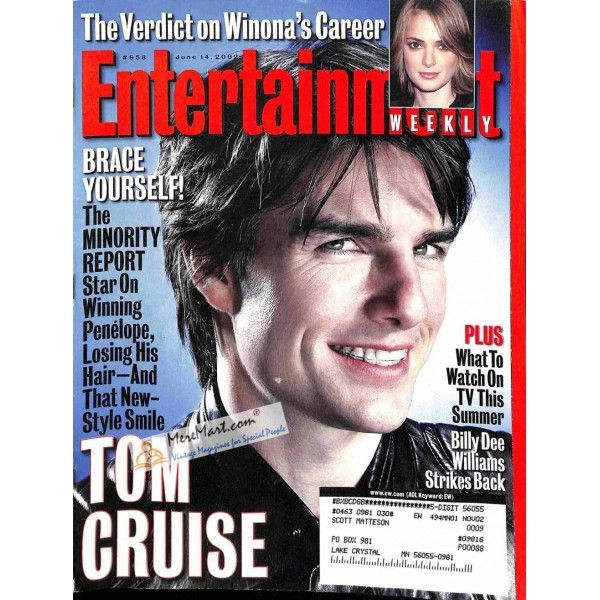 Cover Print of Entertainment Weekly, June 14 2002 | $3.61