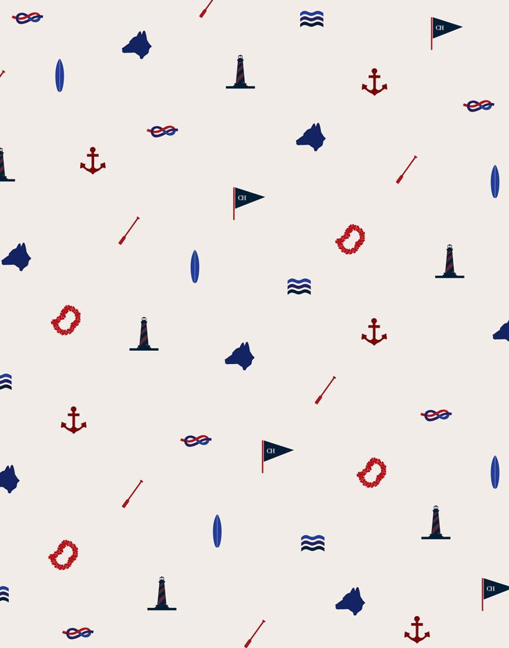 AM on The Present Tense #nautical #prints #patterns