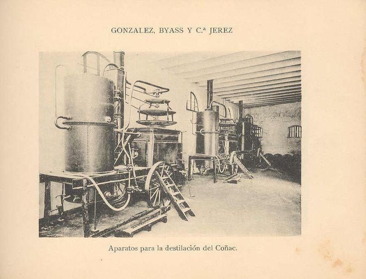 Aparatos para la destilación. / Apparatus used in the distillation process.