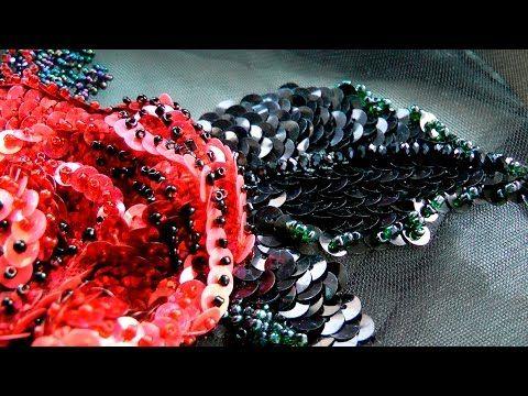 ВЫШИВКА в стиле Dolce & Gabbana \ EMBROIDERY a la Dolce & Gabbana - YouTube