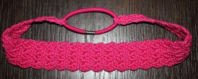 Haarband haken | draadenpapier | Gratis patroon van de steek van Laura #haken #haarband #crochet #headband