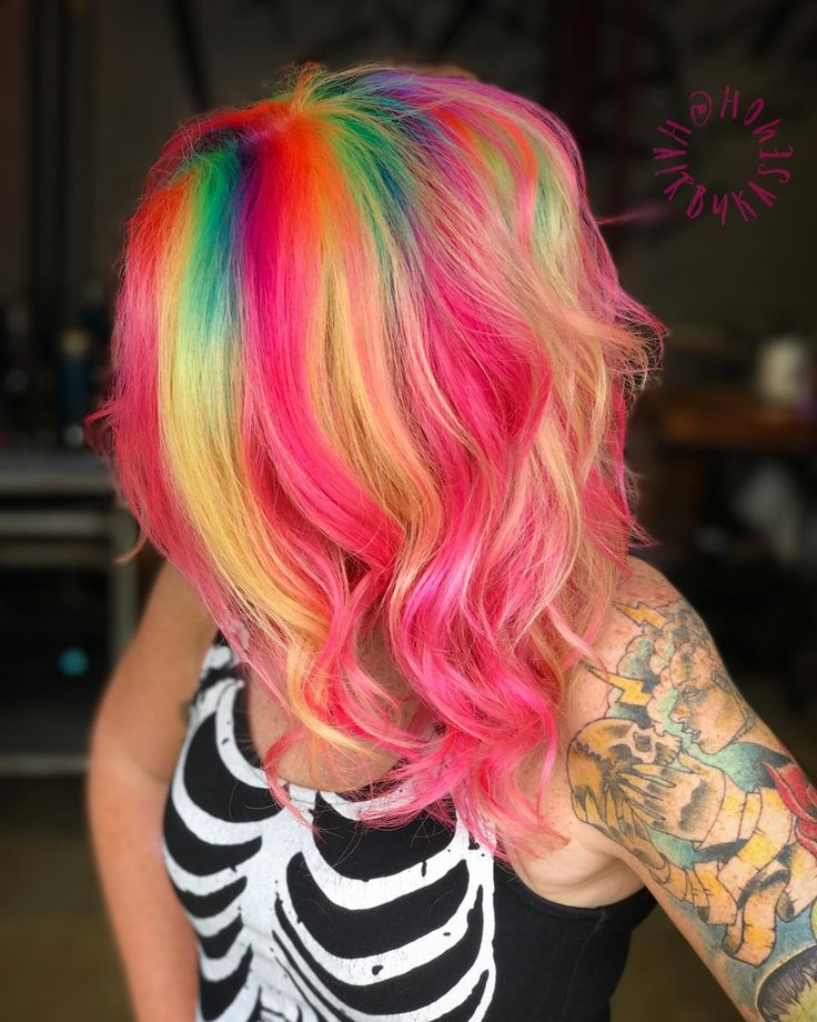 cite hair styles 384 best decorate your hair with rainbow colors images on 3325