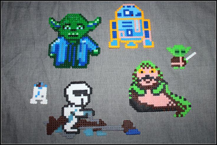 Lasten Star Wars hahmoja.