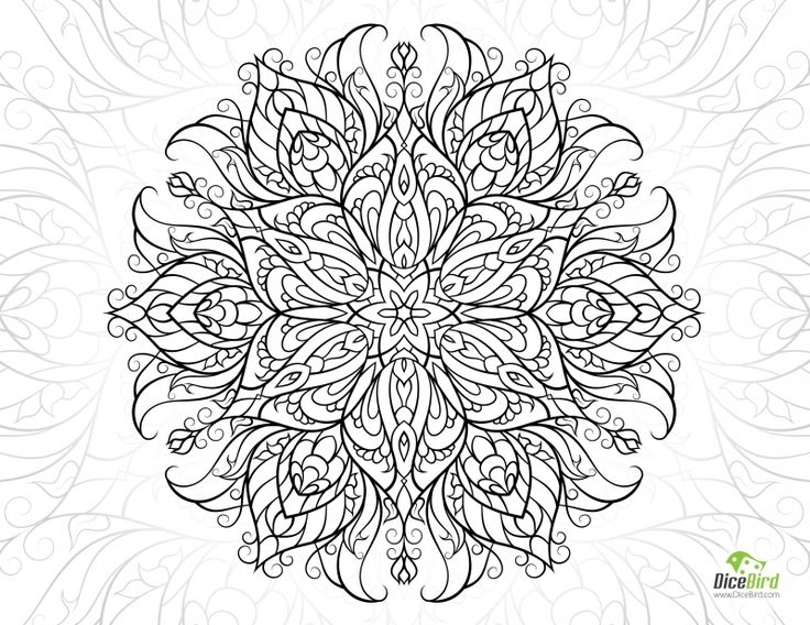 14 best Adult coloring free pages images on Pinterest | Adult ...
