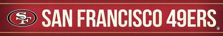 San Francisco 49ers Street Banner $19.99