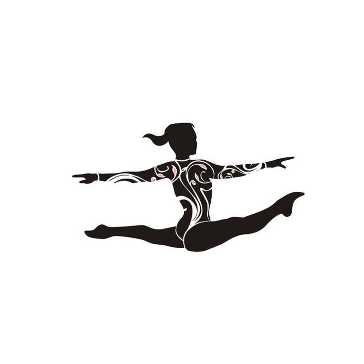 Sticker grand ecart gymway la boutique du gymnaste recherche pour gravure reverso - Dessin gymnaste ...