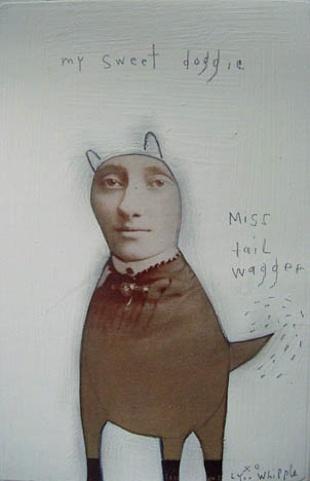 my sweet doggie, lynne whipplePrints Art, Artists, Lynn Wippl, Collage Inspiration, Whipple Geraldine, Lynn Whipple