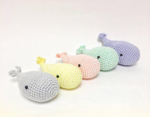 Amigurumi Baby Humpback Whale Free Crochet Pattern - Cool Creativities | 446x570