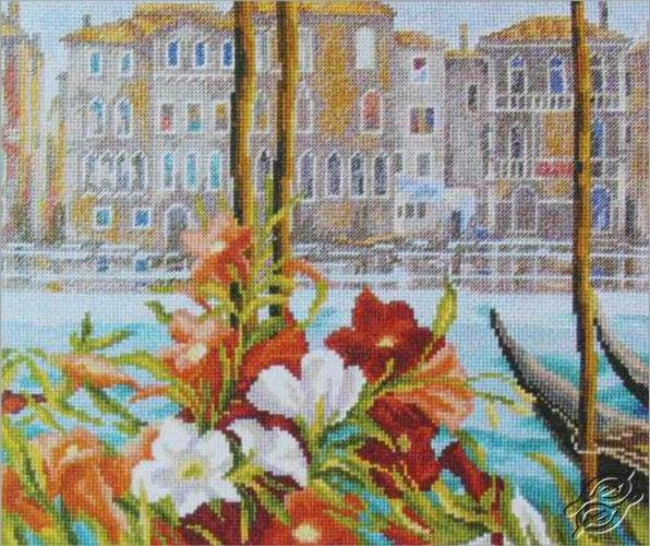 Spring in Venice - Cross Stitch Kits by RTO - M386
