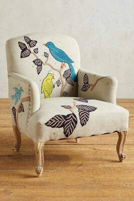 Treescape Dorrance Chair Birds Home Decor
