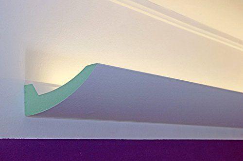 LED Stuckleisten, Lichtprofile, Lichtvouten für indirekte Beleuchtung aus Hartschaum DBKL-125-PR BENDU Fassaden- Stuck & Lichtprofile http://www.amazon.de/dp/B00LA9NUFC/ref=cm_sw_r_pi_dp_YC9cxb0B0A0SJ