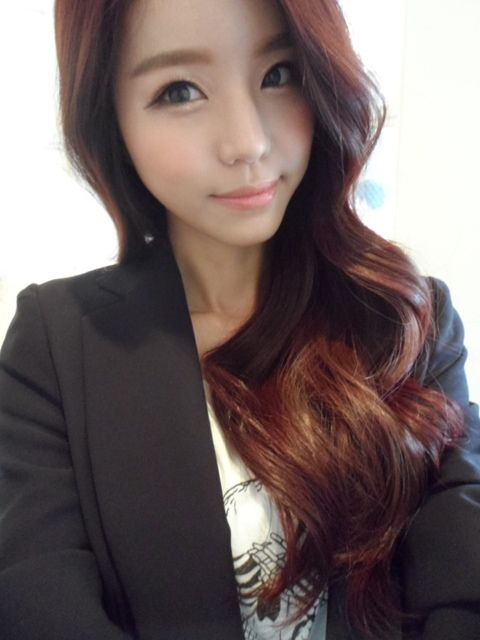 Ulzzang Red Hair 17 Best images ...