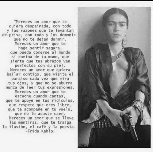 mereces un amor frida kahlo - Buscar con Google